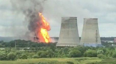 Μεγάλη πυρκαγιά έχει ξεσπάσει σε θερμοηλεκτρικό σταθμό
