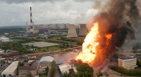 Έσβησε η μεγάλη πυρκαγιά που ξέσπασε σε θερμοηλεκτρικό σταθμό της Μόσχας