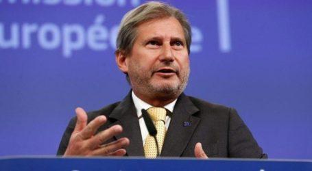 Η καγκελάριος προτείνει και πάλι τον Γιοχάνες Χαν ως Επίτροπο της χώρας στην ΕΕ
