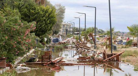 «Μάχη» για την αποκατάσταση της ηλεκτροδότησης στη Χαλκιδική