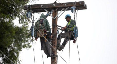 Αποκαταστάθηκαν τα περισσότερα προβλήματα ηλεκτροδότησης στη Χαλκιδική