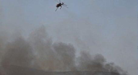 Πυρκαγιά σε αγροτοδασική έκταση στον Ασπρόπυργο