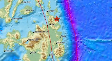 Σεισμική δόνηση 5,8R στο νησί Μιντανάο