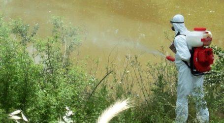 Συνεχίζονται οι ψεκασμοί καταπολέμησης των κουνουπιών στον Έβρο