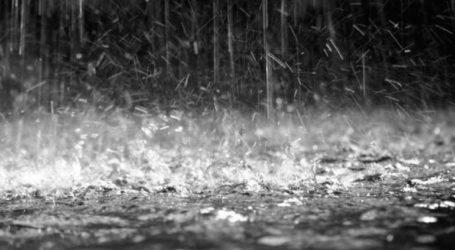 Νέες ισχυρές βροχοπτώσεις εκδηλώθηκαν σε πολλές περιοχές της Αχαΐας και της Αιτωλοακαρνανίας