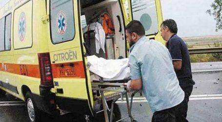 Τροχαίο δυστύχημα στην επαρχιακή οδό Κεραμωτής