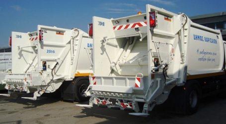 Δέκα νέα απορριμματοφόρα στη μάχη της καθαριότητας
