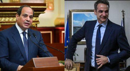 Πρόσκληση να επισκεφθεί το Κάιρο απηύθυνε ο Αλ Σίσι στον Κυρ. Μητσοτάκη