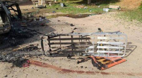 Τέσσερις τραυματίες από αεροπορικό πλήγμα εναντίον νοσοκομείου