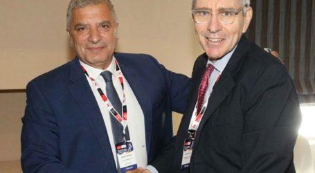 Συνάντηση Πατούλη με τον Αμερικάνο πρέσβη Τζέφρυ Πάιατ