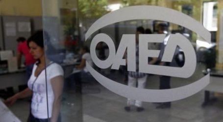Απολογισμός δράσεων του ΟΑΕΔ
