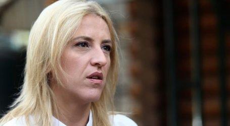 Ελεύθερη χωρίς κανέναν περιοριστικό όρο,αφέθηκε μετά την απολογία της η Ρένα Δούρου