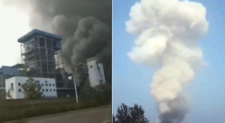 Κίνα: Ισχυρή έκρηξη σε εργοστάσιο αεριοποίησης