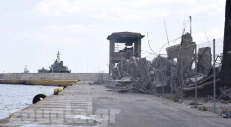 Εντολή Πλακιωτάκη να ασφαλιστεί η περιοχή στο λιμάνι του Πειραιά που κατέρρευσε από τον σεισμό