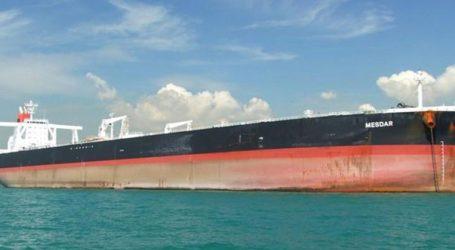 Το δεξαμενόπλοιο υπό σημαία Λιβερίας δεν έχει συλληφθεί
