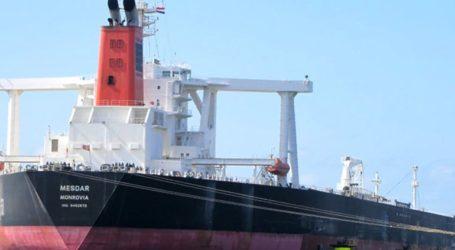Το δεξαμενόπλοιο Mesdar είναι ελεύθερο και συνεχίζει την πορεία του