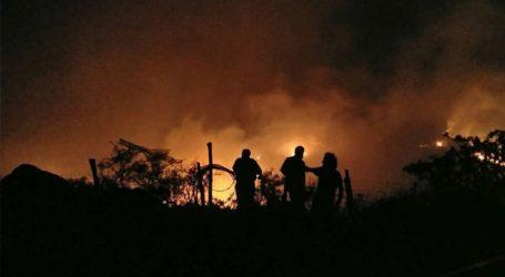 Ολονύχτια μάχη με τις φλόγες στον Άγιο Νικόλαο Λασιθίου