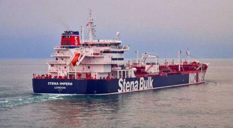 Δημοσιοποίηση βίντεο με το δεξαμενόπλοιο Stena Impero