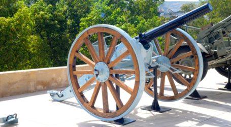 Ακόμα δύο πυροβόλα στο Πολεμικό Μουσείο