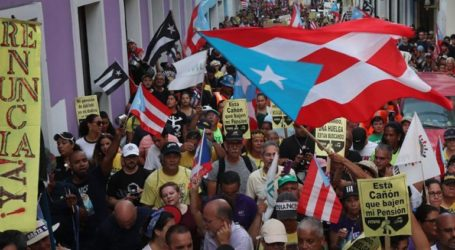 Διαδηλώσεις κατά του κυβερνήτη του Πουέρτο Ρίκο