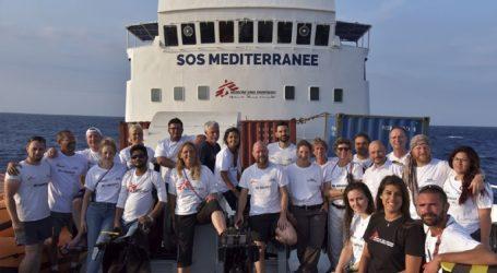 Νέα εκστρατεία διάσωσης της οργάνωσης Μεσόγειος SOS στ΄ανοιχτά της Λιβύης