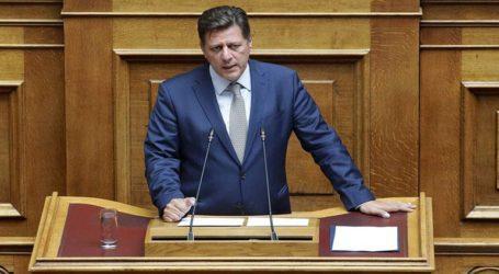 Επίθεση Μ. Βαρβιτσιώτη στον ΣΥΡΙΖΑ για τη Συμφωνία των Πρεσπών