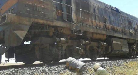 Τρένο που μετέφερε φωσφορικά άλατα εκτροχιάστηκε μετά από έκρηξη