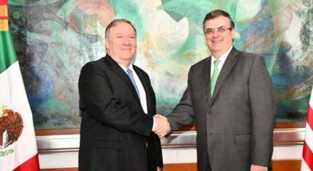 Ο Πομπέο ευχαρίστησε τον Μεξικανό ΥΠΕΞ για την πρόοδο στο μεταναστευτικό