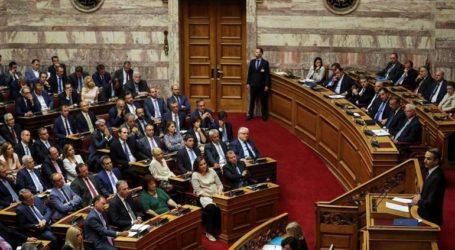 Εντός της εβδομάδας αρχίζει το νομοθετικό έργο της κυβέρνησης