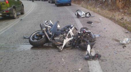 Νεκρός 47χρονος μοτοσικλετιστής σε τροχαίο