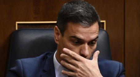 Ο Σάντσεθ έχασε την ψηφοφορία για παροχή ψήφου εμπιστοσύνης από το ισπανικό κοινοβούλιο