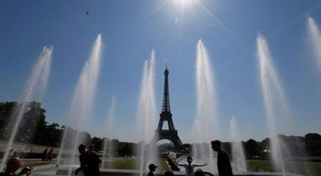 Ξεπέρασε τους 42 βαθμούς Κελσίου η θερμοκρασία στο Παρίσι
