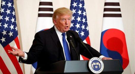 Ο πρόεδρος Τραμπ δηλώνει ότι δεν τον προβλημάτισαν οι πυραυλικές δοκιμές της Βόρειας Κορέας