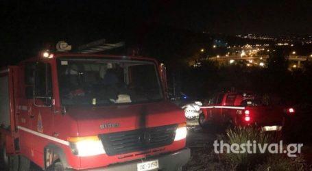 Φωτιά κατά τη διάρκεια της νύχτας σε δασική έκταση στην Αγία Παρασκευή Χαλκιδικής