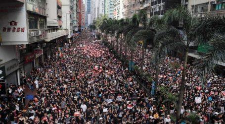 Η αστυνομία έκανε χρήση δακρυγόνων εναντίον των διαδηλωτών