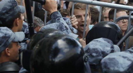 Περισσότερες από 600 συλλήψεις στη Μόσχα σε διαδήλωση της αντιπολίτευσης