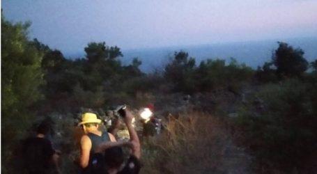 Επιχείρηση διάσωσης 4 τουριστών απο δύσβατη περιοχή