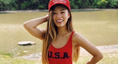 Η πρώην Miss Michigan υπέρ της επανεκλογής Τραμπ
