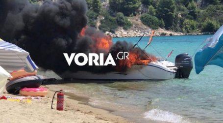 Εκρηξη σε σκάφος -Τραυματίστηκαν μία γυναίκα και δύο παιδιά