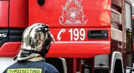 Yπό μερικό έλεγχο τέθηκε η φωτιά στο Ηράκλειο
