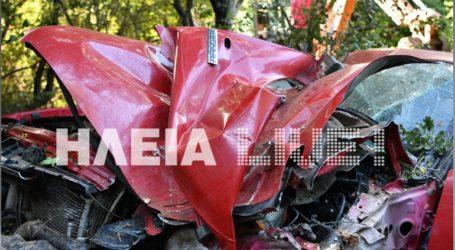 Νεκρός κτηνοτρόφος που έπεσε σε γκρεμό με το αυτοκίνητό του
