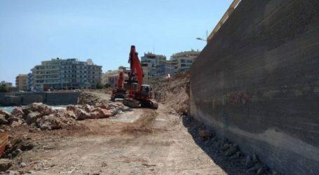 Ηράκλειο: Διακοπή στα έργα στον Κόλπο Δερματά