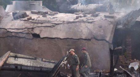 Συντριβή στρατιωτικού αεροσκάφους σε συνοικία της πόλης Ραβαλπίντι με 17 νεκρούς
