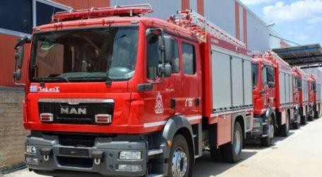 Σε ετοιμότητα η Πολιτική προστασία για τον κίνδυνο πυρκαγιάς