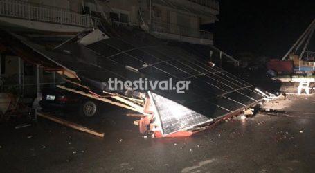 Η καταιγίδα στη Χαλκιδική είχε διάμετρο 160 χλμ. και ριπές ανέμου έως 132 χλμ. την ώρα