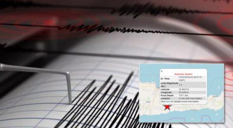 Σεισμός 5,2R στην Κρήτη