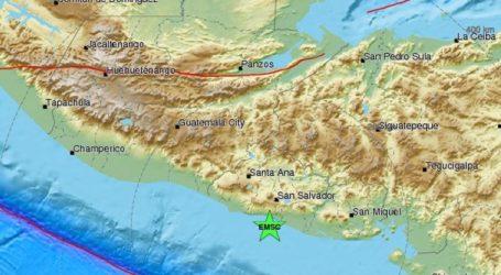 Σεισμός 5,9R στο Ελ Σαλβαδόρ