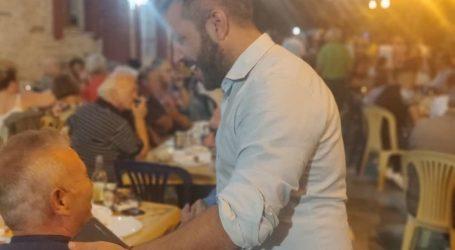 Στο πανηγύρι του Αγίου Βλασίου Πηλίου ο Αλέξανδρος Μεϊκόπουλος