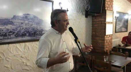 Ηχηρό μήνυμα προς όλες τις κατευθύνσεις η ομιλία του Γ. Αδαμούλη στην Ελασσόνα