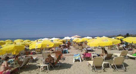 Το αδιαχώρητο στις παραλίες των Νέων Πόρων – «Δροσερές» αποδράσεις για τους Λαρισαίους (φωτο)